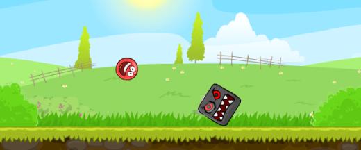 Игры Красный шарик