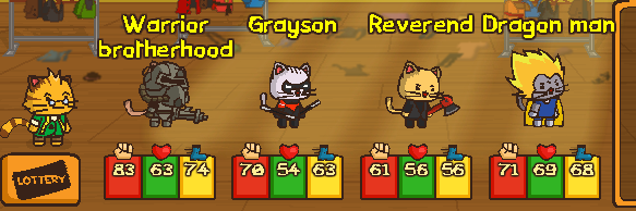 Ударный отряд котят
