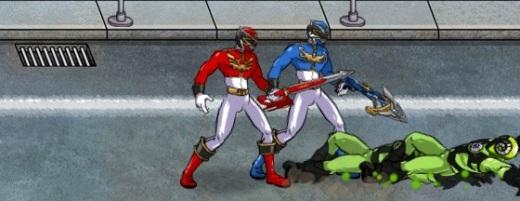 Игры Могучие рейнджеры Дино заряд